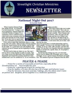March 2017 Newsletter #15