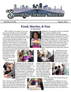 March 2018 Newsletter #19