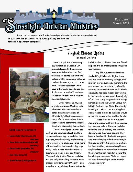 February-March 2019 Newsletter #24